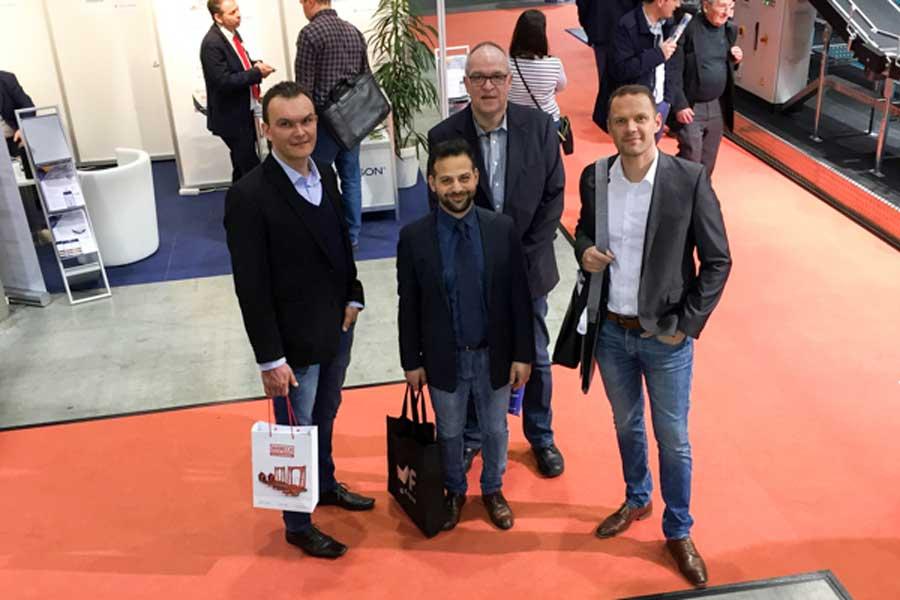 Herth+Buss Besuch LogiMAT 2017 Logistik Team