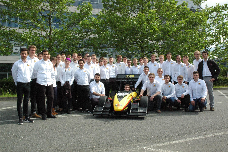 Scuderia-Mensa Sponsoring racing car Herth+Buss