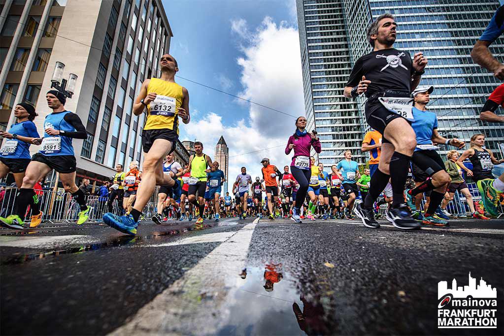 Frankfurt Marathon 2017 Das Sportevent Durch Frankfurt Herthbuss
