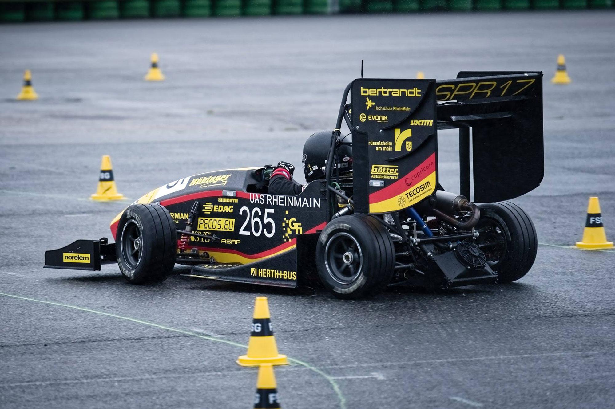 Scuderia Mensa, students racing team sponsorship team Herth+Buss