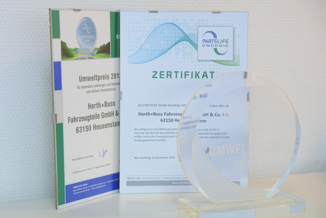 PARTSLIFE-Umweltpreis 2012