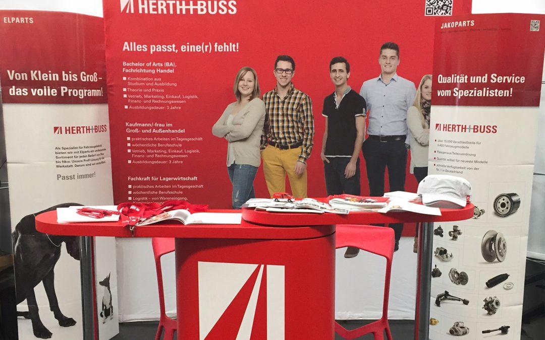 Herth+Buss auf der Bildungsmesse Rodgau