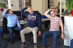 Fitness in the office with the R+D Team