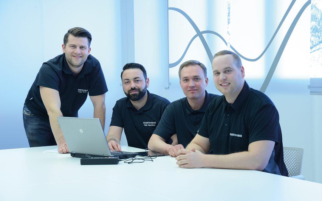 Lernt das Herth+Buss Tech-Team kennen!