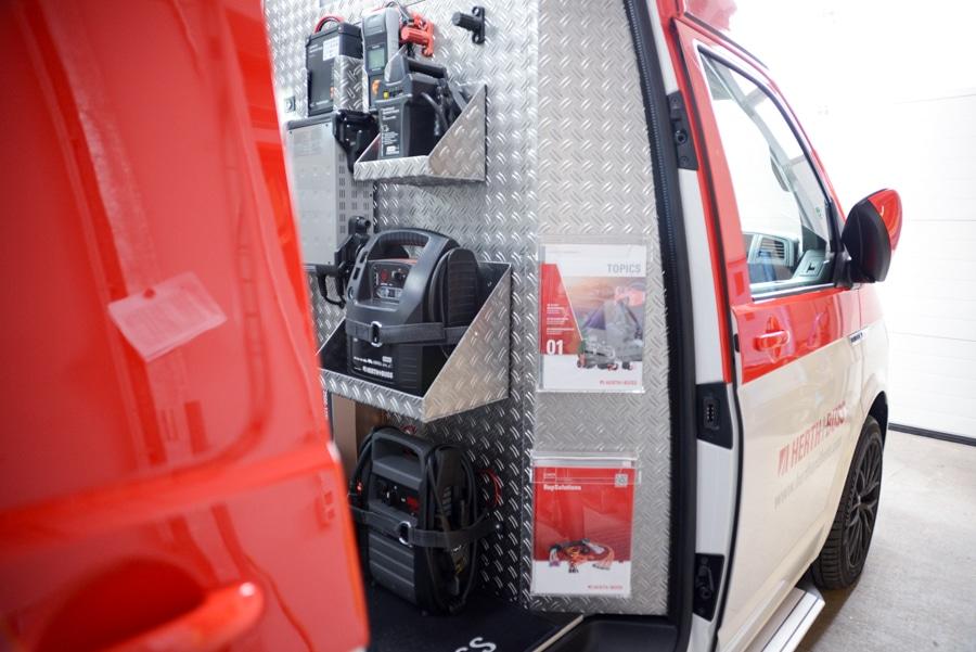 WAD-Mobil, WAD, Mobil, Fahrzeug, Auto, Werkstattaußendienst, Fahrzeug, Herth+Buss, Innenraumausbau, Neuheit, Innenraum, Werkzeuge, Elparts, Jakoparts