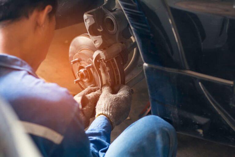 Brake service: safety first!