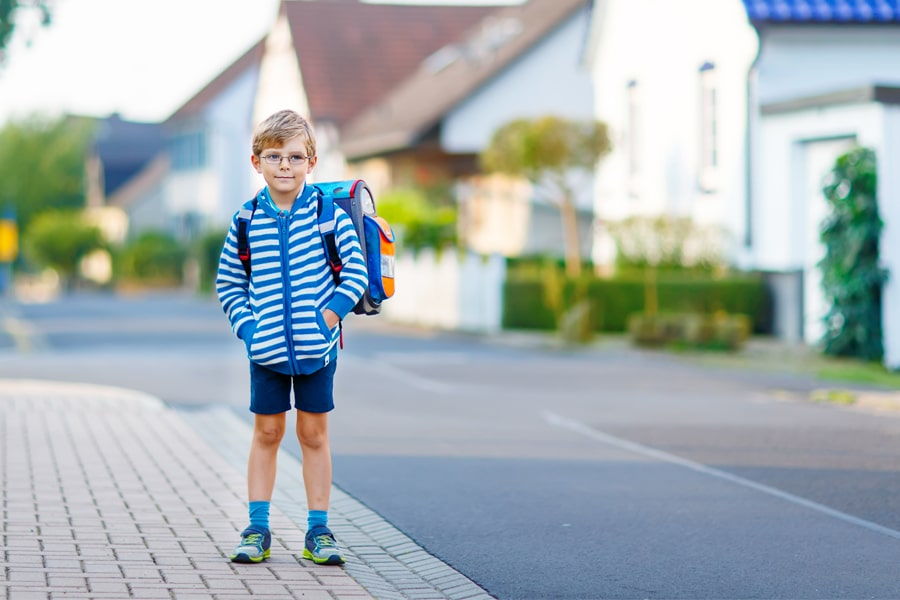 No helicopter needed: 5 tips for a safe way to school