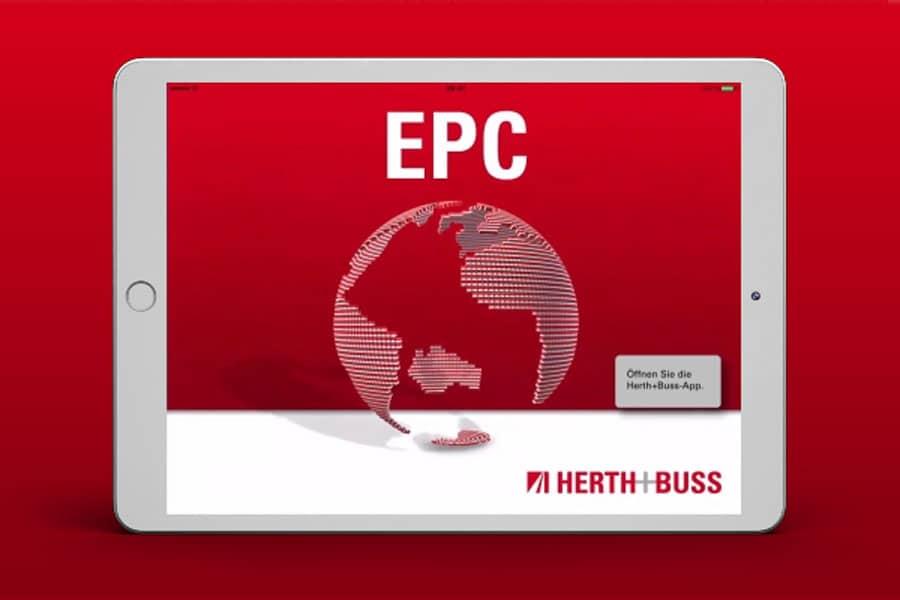 Die Herth+Buss EPC App