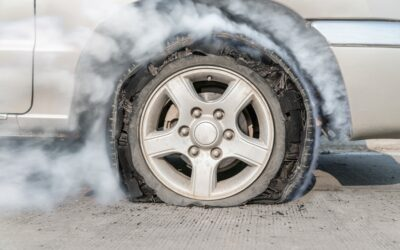 How to identify a broken tyre