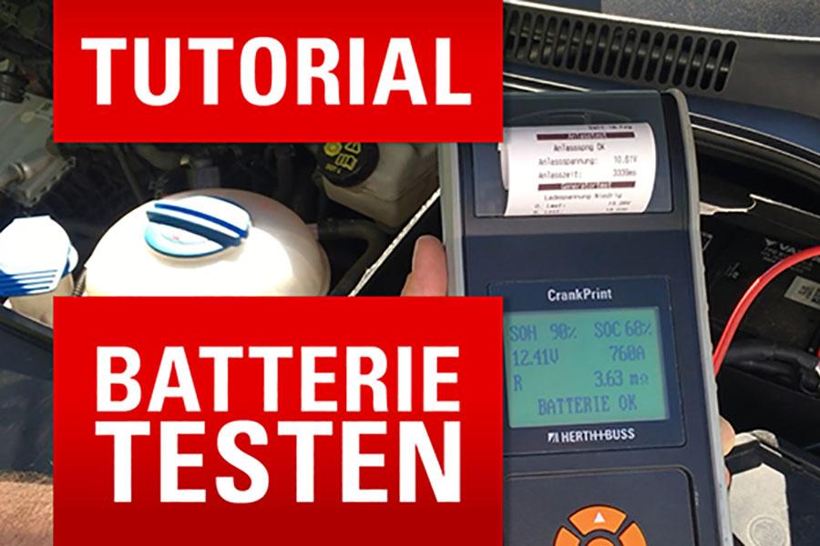✅ Autobatterie testen mit dem CrankPrint 🔎✨