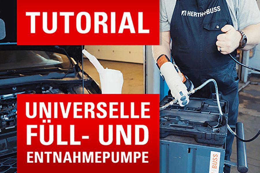 ✅ Umfüllen am Fahrzeug leicht gemacht [für alle nicht leicht entflammbaren Flüssigkeiten] 🔎✨
