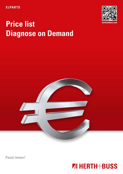 Price list – Diagnose on Demand