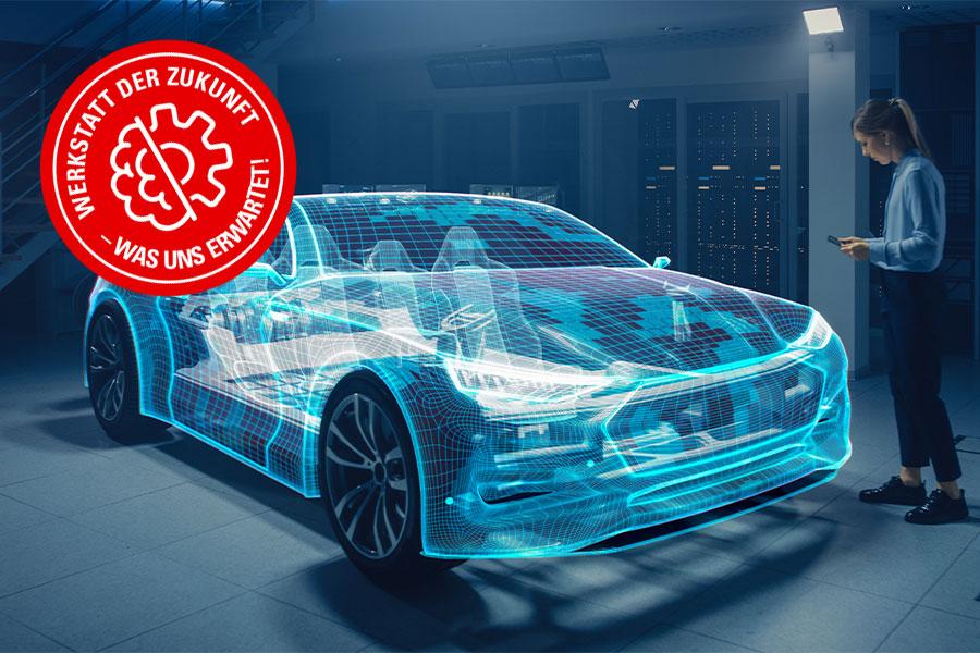 Die Werkstatt der Zukunft: So könnte Augmented Reality Kfz-Profis unterstützen