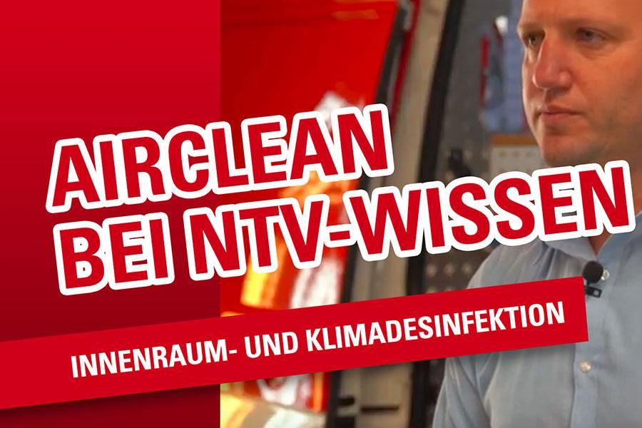 🔴 AirClean – professionelle Klima Desinfektion [Ein Beitrag von n-tv Wissen]